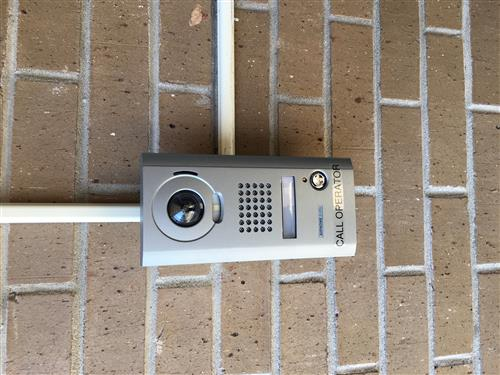 Doorbell at Hendricks Building